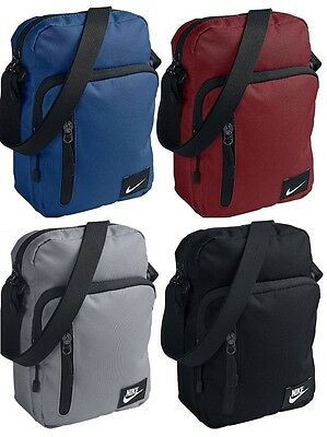 Nike Mens BA5268 Small Man Bag Adjustable Shoulder Bag Pouch 3 Colours