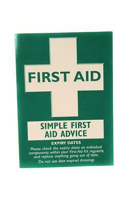 Qualicare First Aid Guidance Booklet for First Aid Kits