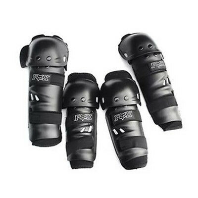 Motocross Motorcycle Racing ABS Elbow Knee Pads Sets Armor Protective Guard