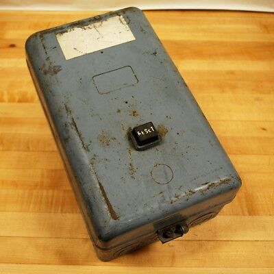 Square D 8536 DAG-1 Contactor, 480 VAC Coil, 600 VAC contacts 45 amp - USED