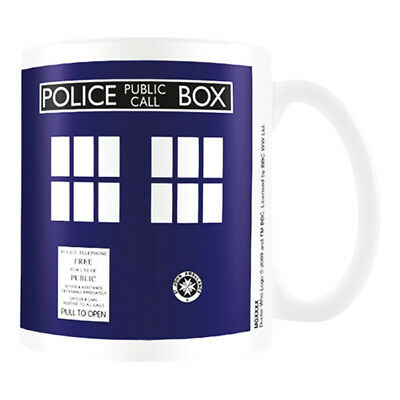 Dr Who Ceramic Mug Tardis Cup Coffee Tea Gift Fan New Official Licensed Product