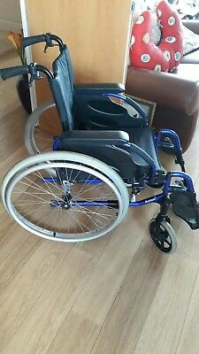 Invacare Action 3 Lightweight Aluminium Adult Wheelchair - Seat 15 Inches Wide