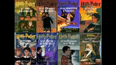collection complete EBOOK 8 Harry Potter en français epub ET 2 LIVRES EN PRIME