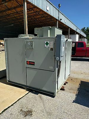 2006 TRANE 30 TON air cooled water Chiller CGAFC30 with Ice option YORK CARRIER