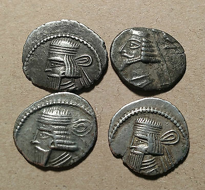 Lot #1 PARTHIAN SILVER DRACHM Unknown Rulers DRACHMA Silver Group Culls Archer