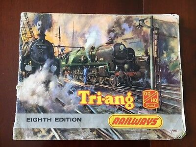 Triang Oo Gauge Model Railways 8Th Edition ( 1962 ) Product Range Catalogue