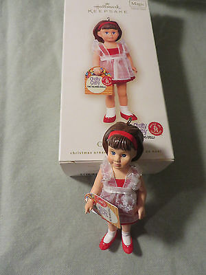 Hallmark Ornament - CHATTY CATHY The Talking Doll:  Brunet - Dated 2070 - Magic
