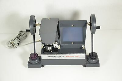 Mansfield Reporter 8mm Editor Made In USA Vintage Model 650
