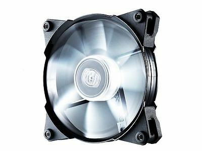 COOLERMASTER JETFLO WHITE LED PWM Fan Quiet - 120mm 600/2000RPM