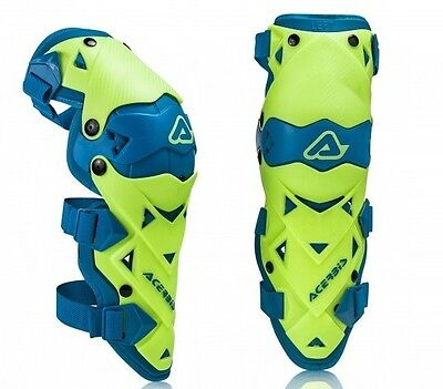 Acerbis Impact Evo 3.0 Hinged Knee Guards Flo Yellow Motocross Mx Enduro Cheap