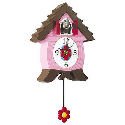 Clock Coo Kids Wall Hanging Different Animals,elephant Coo