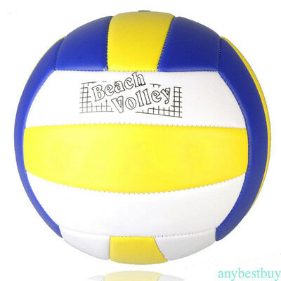 Volleyball Size 5 Soft Touch Ball for Outdoor Indoor Sports Beach Game HY10