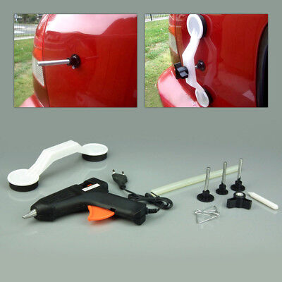 UK Car Paintless Surface Dent Repair Kit Puller Auto Body Hail Ding Removal Tool