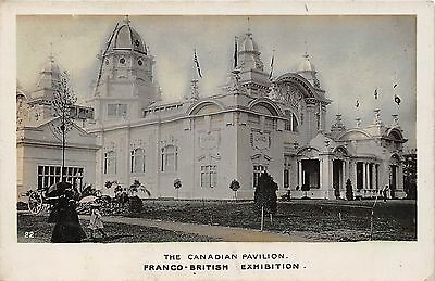 POSTCARD    EXHIBITIONS  FRANCO  BRITISH  Canadian  Pavilion