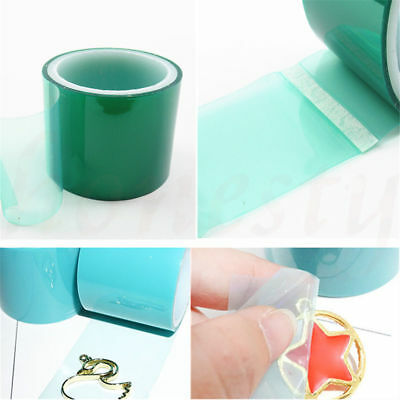 Non Stick Hands Non Stick Metal Adhesive Tape Making Tools 4cmx5m For DIY New