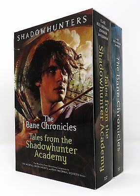 The Bane Chronicles Series 2 Books Boxed Set Collection Shadowhunter Academy NEW