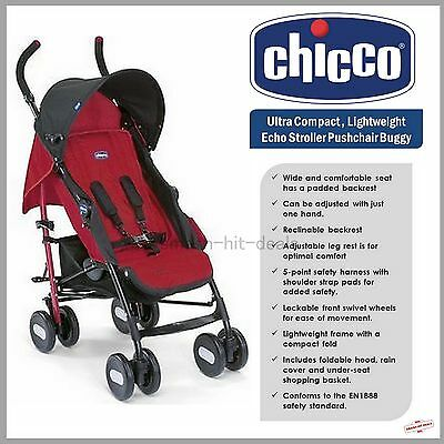 inc Footmuff /& Raincover OFFER was £130 Red Berry Chicco Liteway v3 Stroller