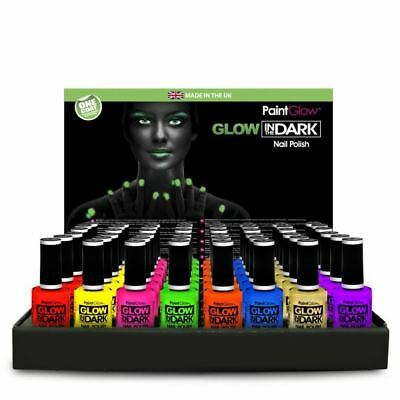 Paint Glow In Dark Nail Polish Bright Neon Fluorescent Festival Club