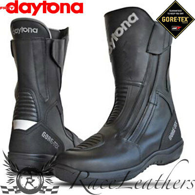 Daytona Road Star Gtx Goretex Wide Fit Waterproof Motorcycle Motorbike Boots