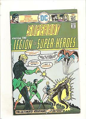 DC Comics     Superboy #211  Fine    Bronze Age  Mike Grell Cover