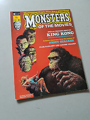 MONSTERS OF THE MOVIES MAGAZINE No. 1-5 - 1974
