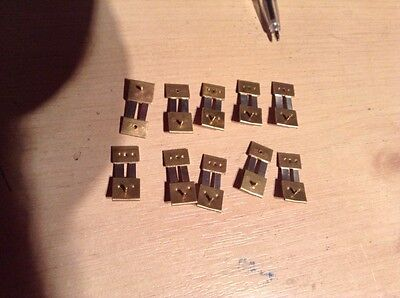 10 Brand  New Quality pendulum suspension spring Will Fit 99% Of Smiths Clocks