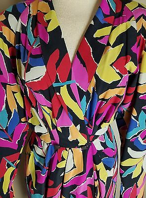 Ungaro Parallele Paris Classic Dress with Sash Belt - Sz 38