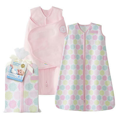 Halo Sleepsack Two-piece Gift Set 100% Cotton - Pink (New in Package)