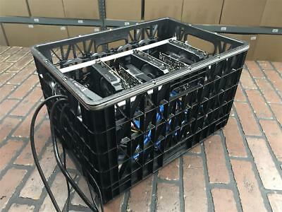 Cryptocurrency Mining Rig Zcash/LBRY & Other Approx 880 H/S ZEC Crate Design