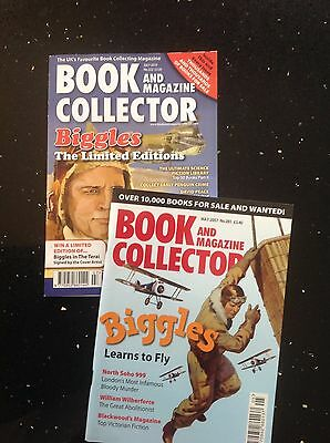 Book & Magazine Collector: pair of BIGGLES Issues No.281 322