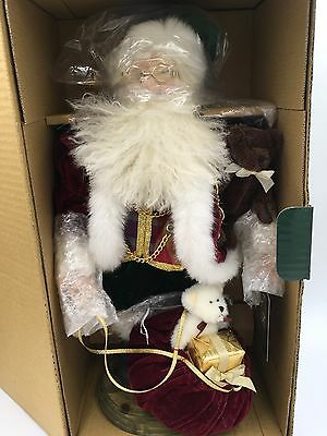 Boyds J & T IMAGINATIONS Father Christmas. . .Bearing Gift #73306