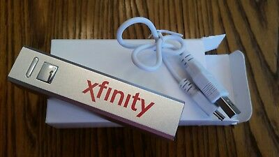 Xfinity Comcast Cable Television Tv Provider Phone Battery Charger Power Bank