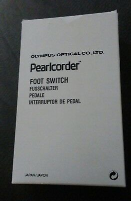 Olympus Pearlcorder T1000 Desktop Microcassette Transcriber Foot Switch RS