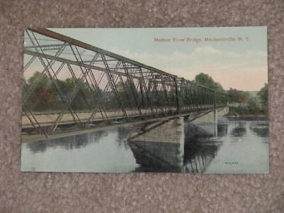 Hudson River Bridge, Mechanicville, N.Y., unused vintage card