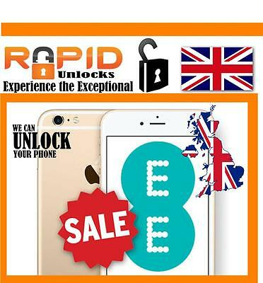 For Ee / T-Mobile For Iphone 4 5 5S 5C 6 6 6S 7 7 Plus Unlocking Service Uk