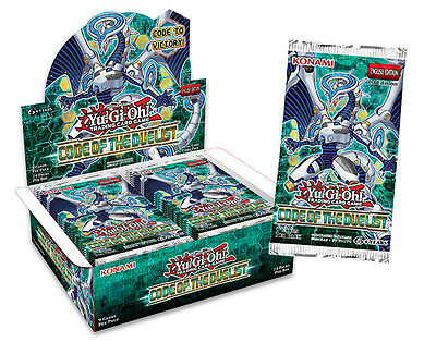 Yugioh TCG Code of the Duelist Booster Pack - NEW and SEALED - AUTHENTIC