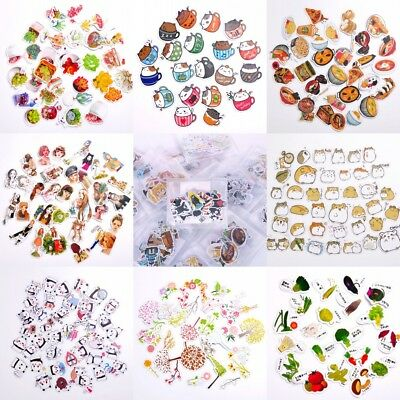 Korean Diary Label Deco Stickers Cartoon Cute Scrapbooking DIY Stickers Tags