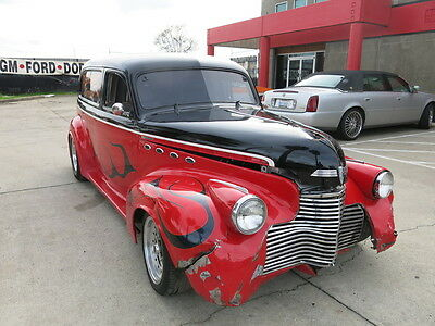 1940 Chevrolet sedan  1940 Chevy sedan damaged wrecked rebuildable salvage Project 40