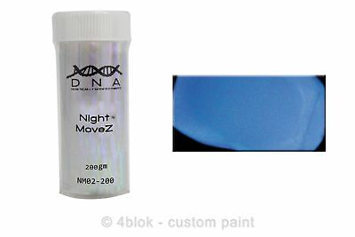 DNA Night moveZ glow in the dark additive blue 200 gm NM02-200  - 4blok