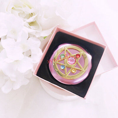 Sailor Moon Moonlight Memory Crystal Star Mirror Case cosmetic make up mirrorNew