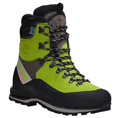 Arbortec Scafell Lite Lime Green Chainsaw Boots Class 2