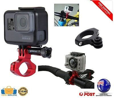 NEW GoPro Aluminium Handlebar Bicycle Bike Camera Mount Clamp HERO 2 3 3+ 4 5