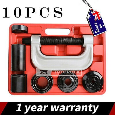 Air Impact Ratchet Wrench Rattle Gun Tool & Ball Joint Remover Service Kit