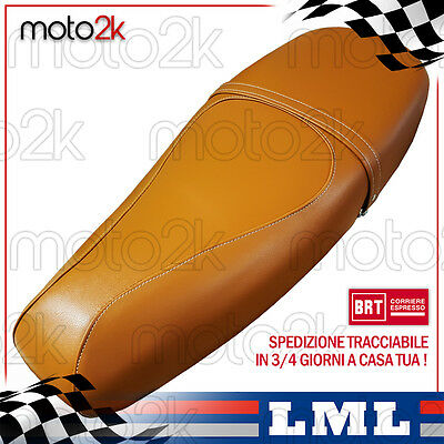 Sella Marrone Elite Specifica Per Lml Star 125 150 200 4 Tempi - Cod P2011Lml