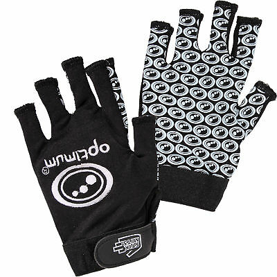 Optimum Stik Mit Rugby Gripper Gloves Black