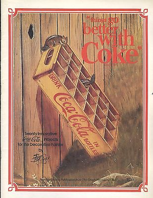 Things Go Better With Coke Decorative Painting Book 20 Coca Cola Projects Bailey