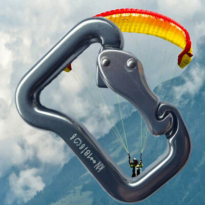 Abseiling Paragliding Paraglider Parachute Clip Clasp Lock Carabiner Snap Eyeful