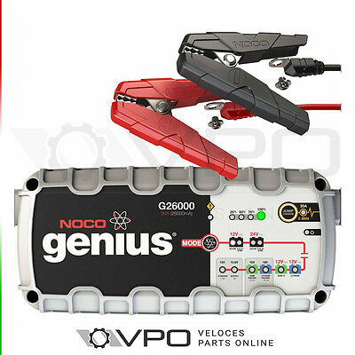Noco Genius G26000Uk Pro Series Smart Car Battery Charger W/ Jump Start Engine