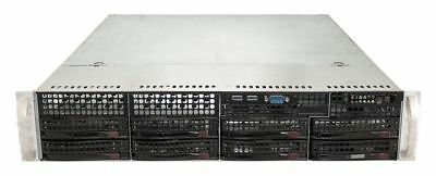 Supermicro Case Cse-825 Chassis 2U + Psu 560W 80+ Gold + Backplane