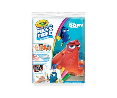 Crayola Colour Wonder Mess Free Colouring Finding Dory Color Nemo Fish